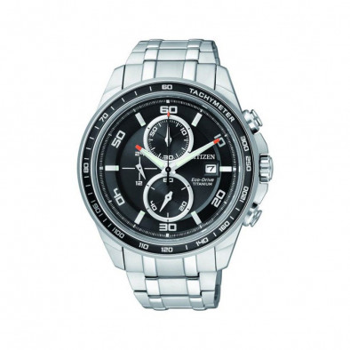 Ανδρικό ρολόι Citizen Eco-Drive Super Titanium Chronograph CA0340-55E