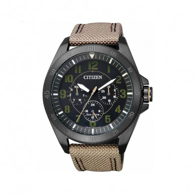 Ανδρικό ρολόι Citizen Eco-Drive Military Black IP BU2035-05E