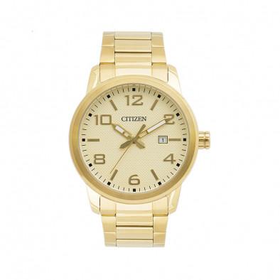 Ανδρικό ρολόι Citizen Gold Tone BI1022-51P