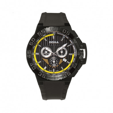 Ανδρικό ρολόι Doxa Splash Black Chronograph