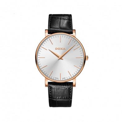 Ανδρικό ρολόι Doxa D-Light Pink Gold Toned Quartz