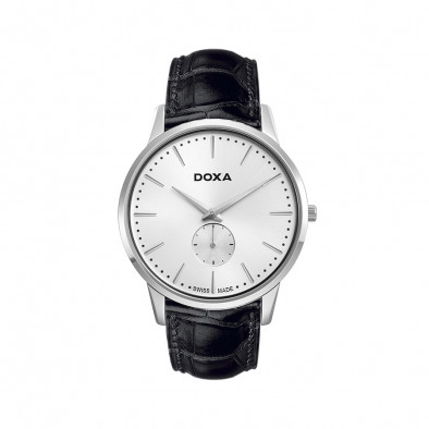 Ανδρικό ρολόι Doxa Classic Slim Line 1 Gent Silver Dial