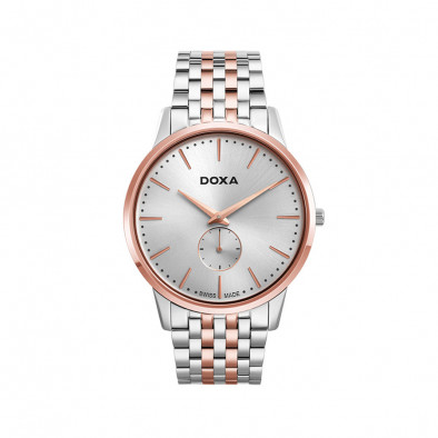 Ανδρικό ρολόι Doxa Slim Line 1 Gent Rose Gold 1056002160