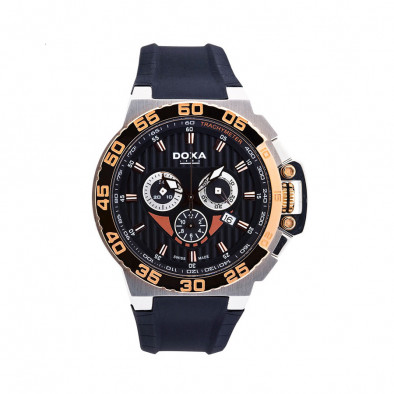 Ανδρικό ρολόι Doxa SPLASH GENT CHRONO Black Dial Watch