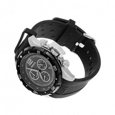 Ανδρικό ρολόι Doxa Water N'Sports Black Quartz Chronograph  7038010320 2