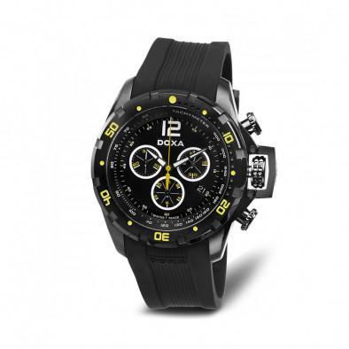 Ανδρικό ρολόι Doxa Water N'Sports Black Chronograph