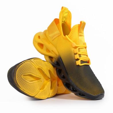 Ανδρικά κίτρινα αθλητικά παπούτσια Rogue gradient it261020-1 4