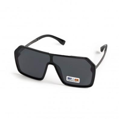 Ανδρικά μαύρα γυαλιά ηλίου μάσκα il200521-16 2