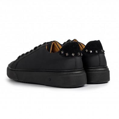 Ανδρικά μαύρα sneakers All black it300920-57 3