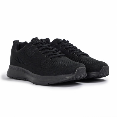 Ανδρικά μαύρα αθλητικά παπούτσια Kiss GoGo it260620-7 3
