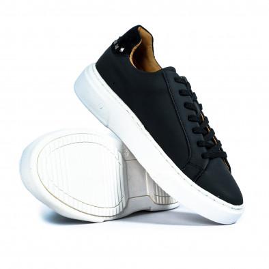 Ανδρικά μαύρα sneakers it300920-56 4