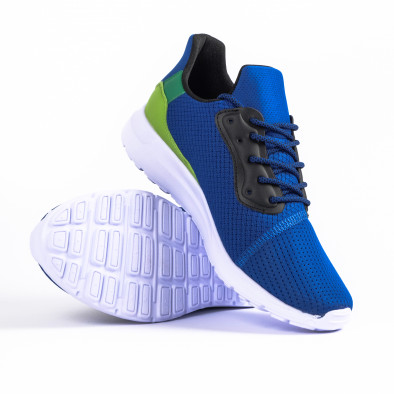 Ανδρικά γαλάζια αθλητικά παπούτσια Kiss GoGo it260520-4 4