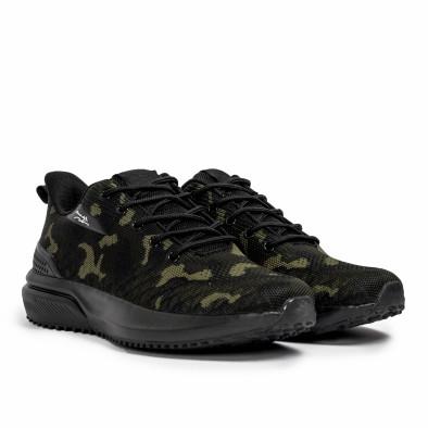 Ανδρικά καμουφλαζ sneakers σε υφή it090321-4 3