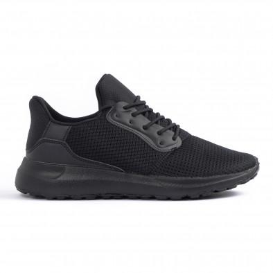 Ανδρικά μαύρα αθλητικά παπούτσια Kiss GoGo it260520-3 2