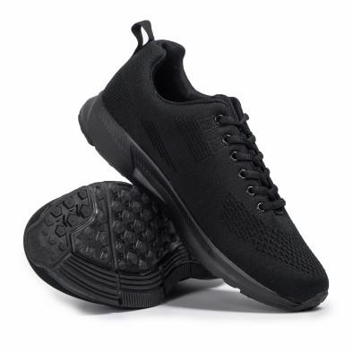 Ανδρικά μαύρα αθλητικά παπούτσια Kiss GoGo it260620-7 4