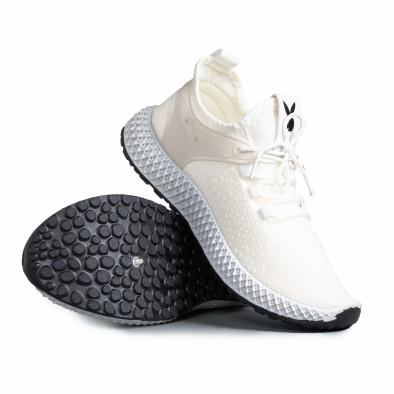 Ανδρικά λευκά αθλητικά παπούτσια Fashion gr270421-28 4