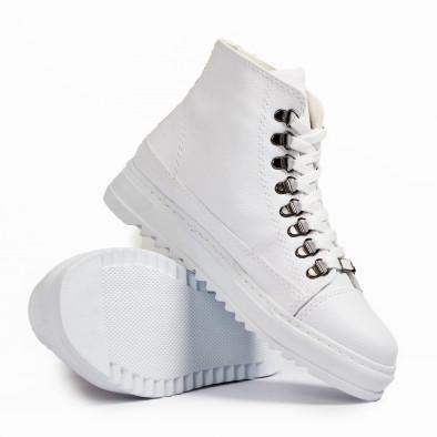 Ανδρικά λευκά sneakers Trekking design tr181120-5 4