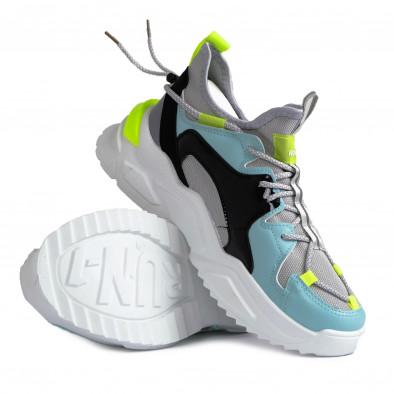 Chunky ανδρικά γκρι sneakers gr270421-29 4