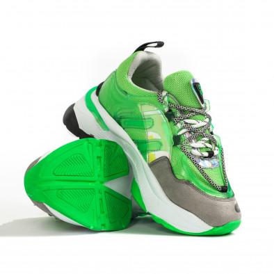 Γυναικεία πράσινα sneakers Sense8 tr240320-1 4