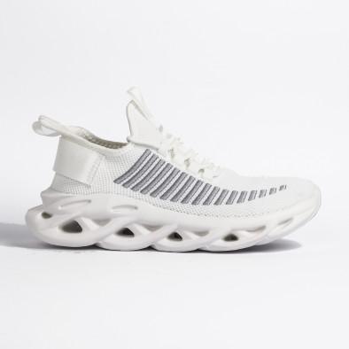Ανδρικά λευκά αθλητικά παπούτσια Rogue it270320-22 3