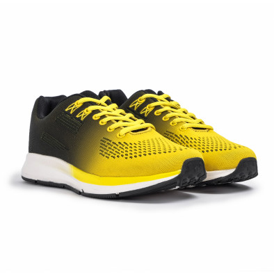 Ανδρικά κίτρινα αθλητικά παπούτσια Kiss GoGo it260620-6 3