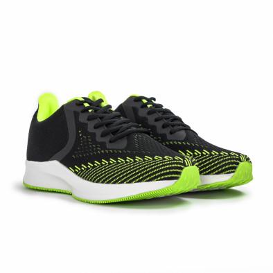 Ανδρικά μαύρα αθλητικά παπούτσια Kiss GoGo it260620-5 3