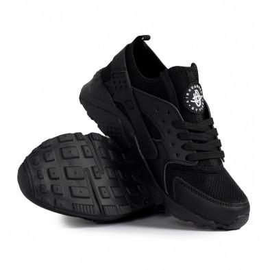 Ανδρικά μαύρα sneakers Plus Size gr020221-16 5