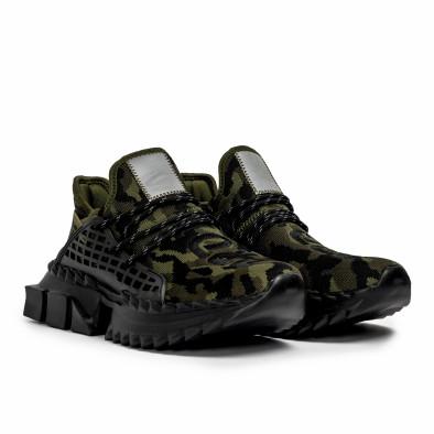 Ανδρικά καμουφλαζ sneakers Cubic it090321-8 3