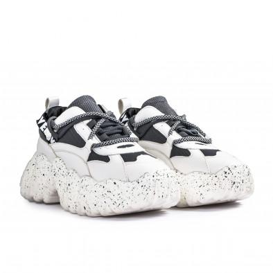 Sneakers Ultra Sole σε λευκό και γκρι it261020-6 3