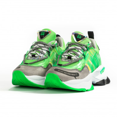 Γυναικεία πράσινα sneakers Sense8 tr240320-1 3