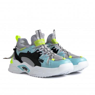 Chunky ανδρικά γκρι sneakers gr270421-29 3