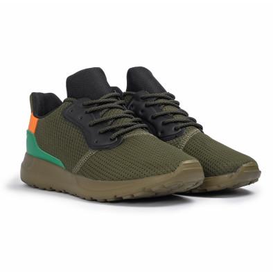 Ανδρικά πράσινα αθλητικά παπούτσια Kiss GoGo it260620-8 3