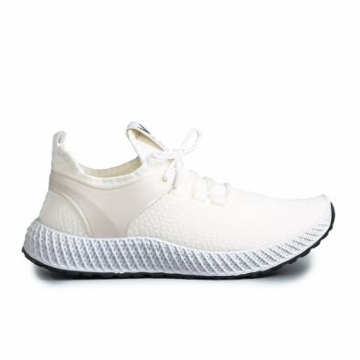 Ανδρικά λευκά αθλητικά παπούτσια Fashion gr270421-28 2