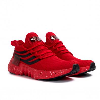 Ανδρικά κόκκινα αθλητικά παπούτσια Kiss GoGo it180621-3 3