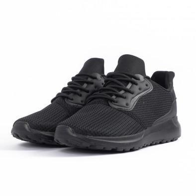 Ανδρικά μαύρα αθλητικά παπούτσια Kiss GoGo it260520-3 3