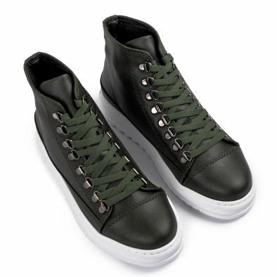 Ανδρικά πράσινα sneakers Trekking design tr181120-4 3
