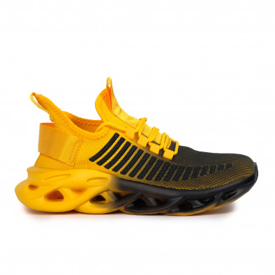 Ανδρικά κίτρινα αθλητικά παπούτσια Rogue gradient it261020-1 2