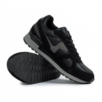 Ανδρικά μαύρα αθλητικά παπούτσια Flair it300920-53 4