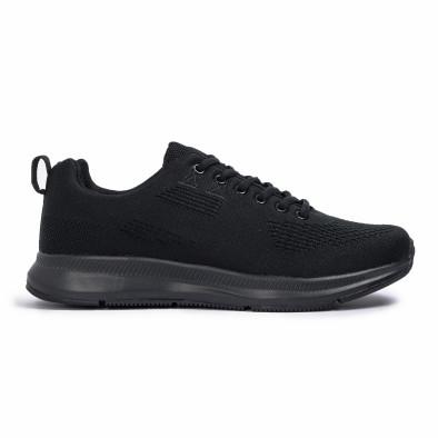 Ανδρικά μαύρα αθλητικά παπούτσια Kiss GoGo it260620-7 2