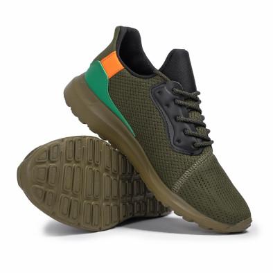 Ανδρικά πράσινα αθλητικά παπούτσια Kiss GoGo it260620-8 4