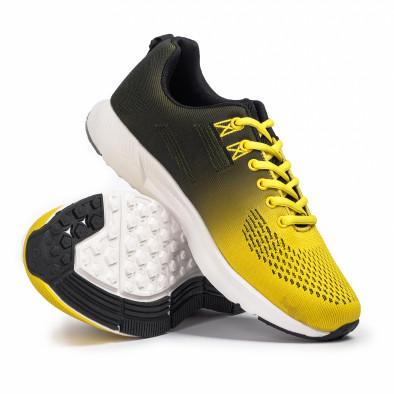 Ανδρικά κίτρινα αθλητικά παπούτσια Kiss GoGo it260620-6 4
