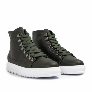 Ανδρικά πράσινα sneakers Trekking design tr181120-4 4