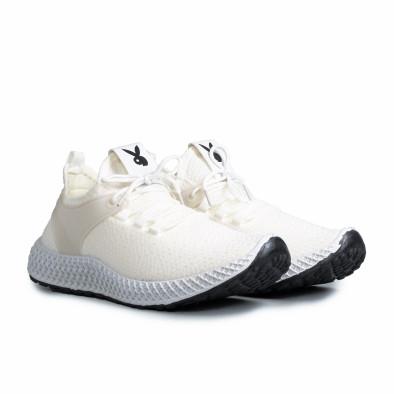 Ανδρικά λευκά αθλητικά παπούτσια Fashion gr270421-28 3
