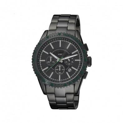 Ανδρικό ρολόι Esprit Quartz Chronograph PVD Black ES104031007