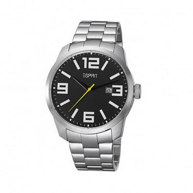 Ανδρικό ρολόι Esprit Quartz Black Dial ES103842005