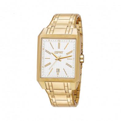 Ανδρικό ρολόι Esprit PVD Gold White Dial