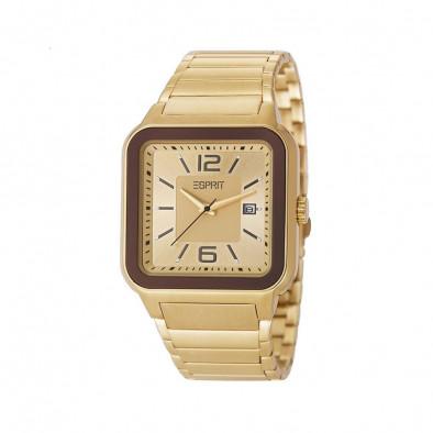 Ανδρικό ρολόι Esprit PVD Gold Quartz