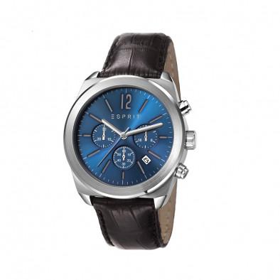 Ανδρικό ρολόι Esprit Quartz Chronograph Blue Dial