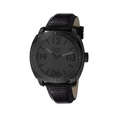 Ανδρικό ρολόι Esprit Black Dial PVD Black