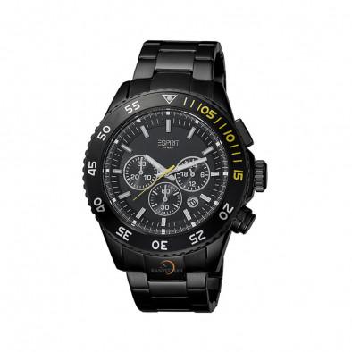 Ανδρικό ρολόι Esprit ES PVD BLACK Quartz Chronograph